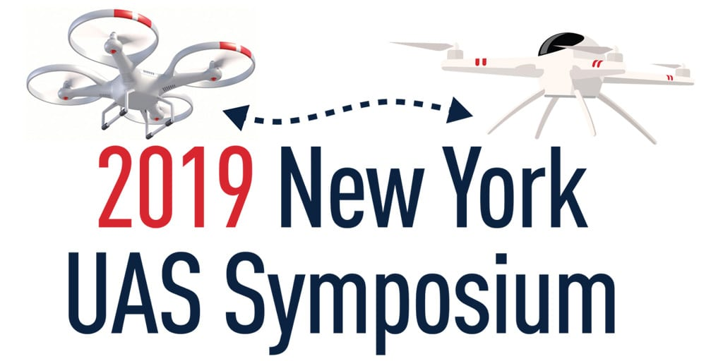 2019 New York UAS Symposium logo twitter