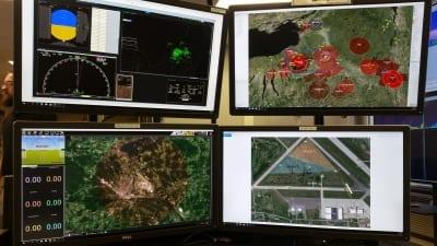 UAS Test Screens