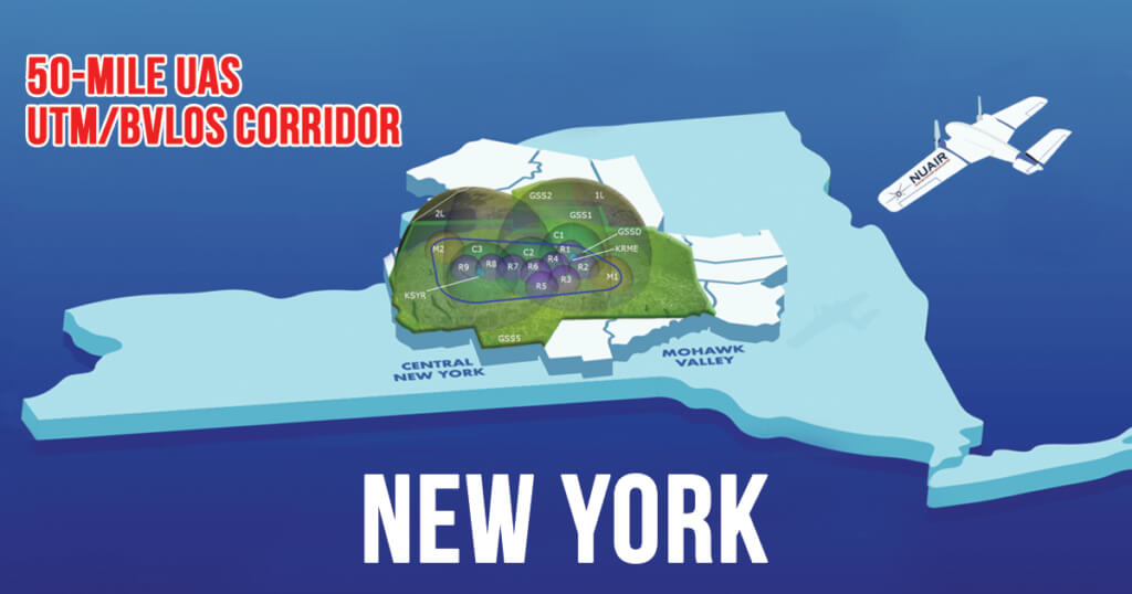 New York 50-mile Corridor