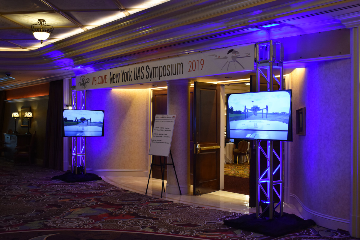 NY UAS Symposium Entrance