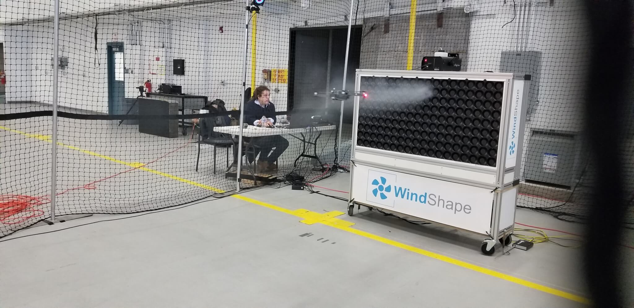 Drone Testing at NY UAS Test Site - WindShape