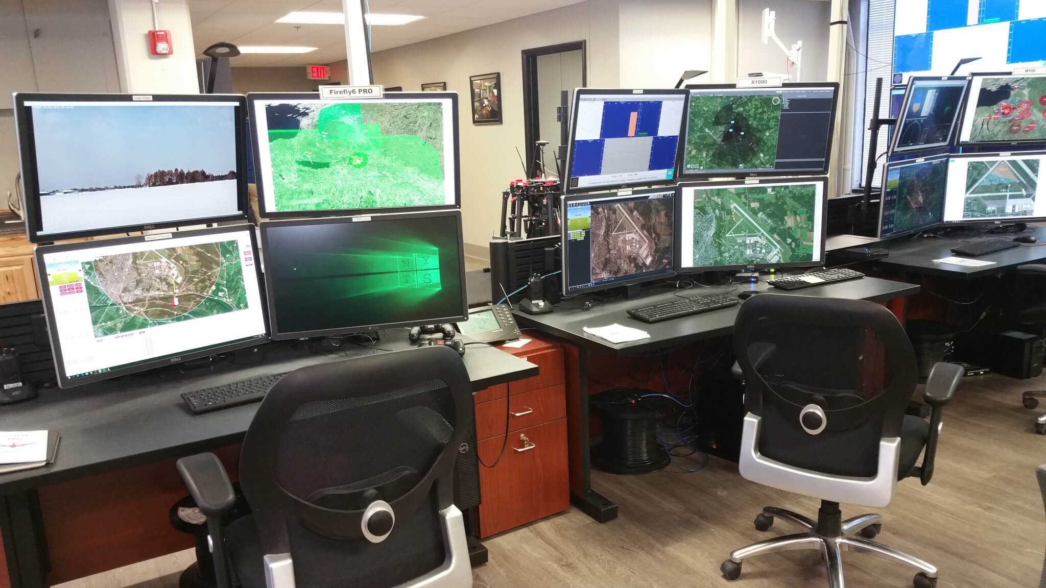 New York UAS Test Site Ops Center