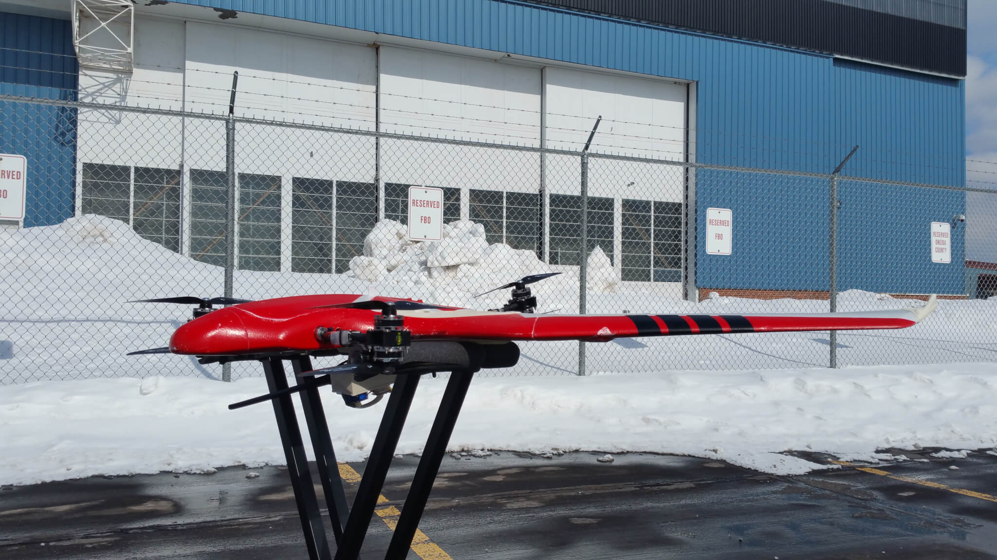 Drone Testing at NY UAS Test Site - FireFly