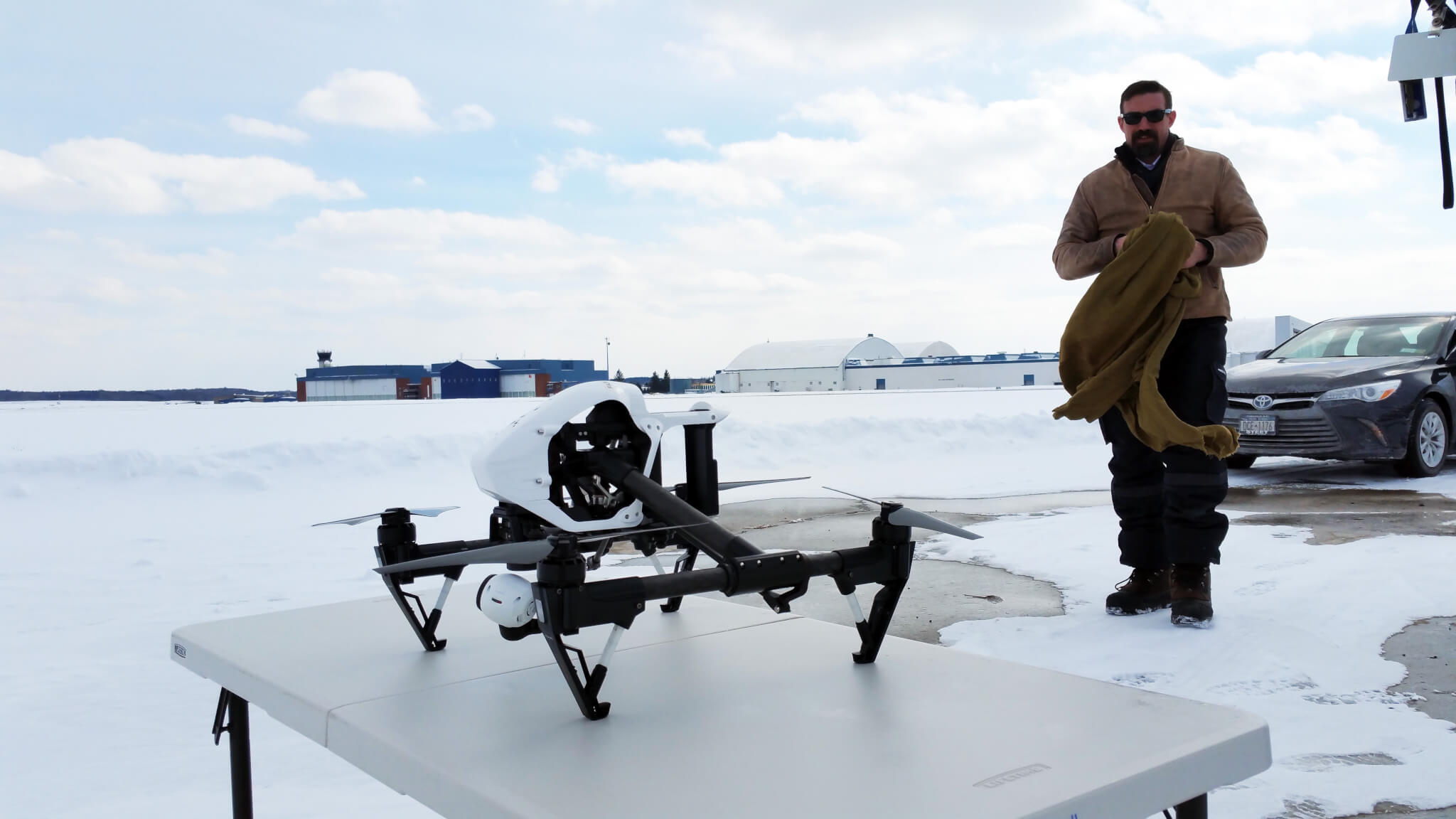 Winter Drone Testing at NY UAS Test Site