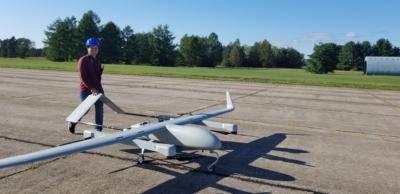 Kraus Drone Testing