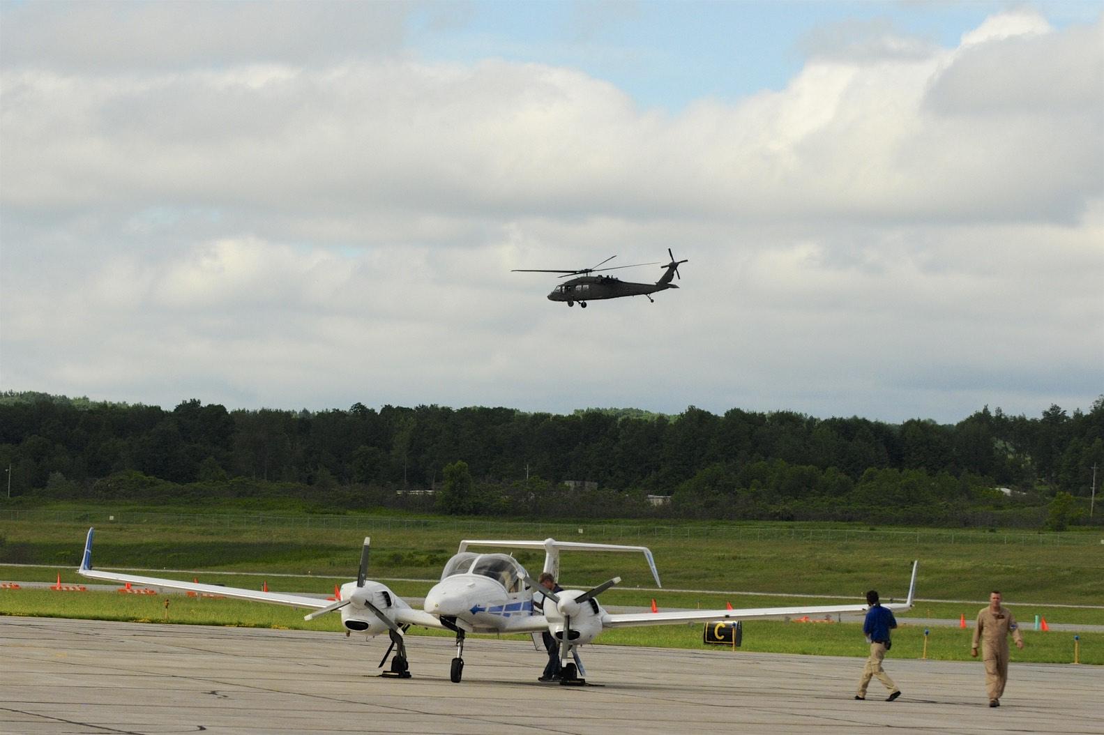 Aurora Centaur & Helicopter