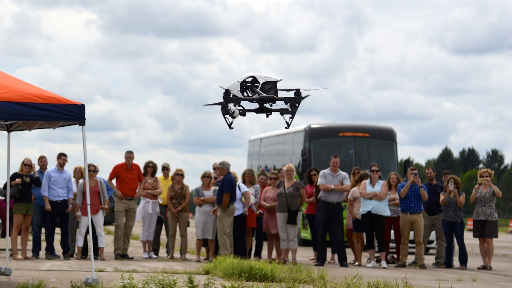 Drone Testing at NY UAS Test Site