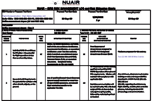 NUAIR-ISRB