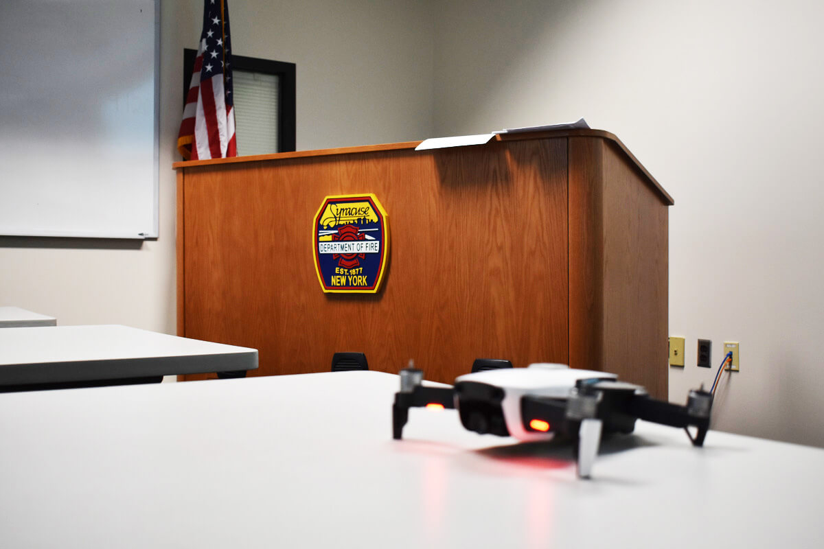 Syracuse Fire Department Drone