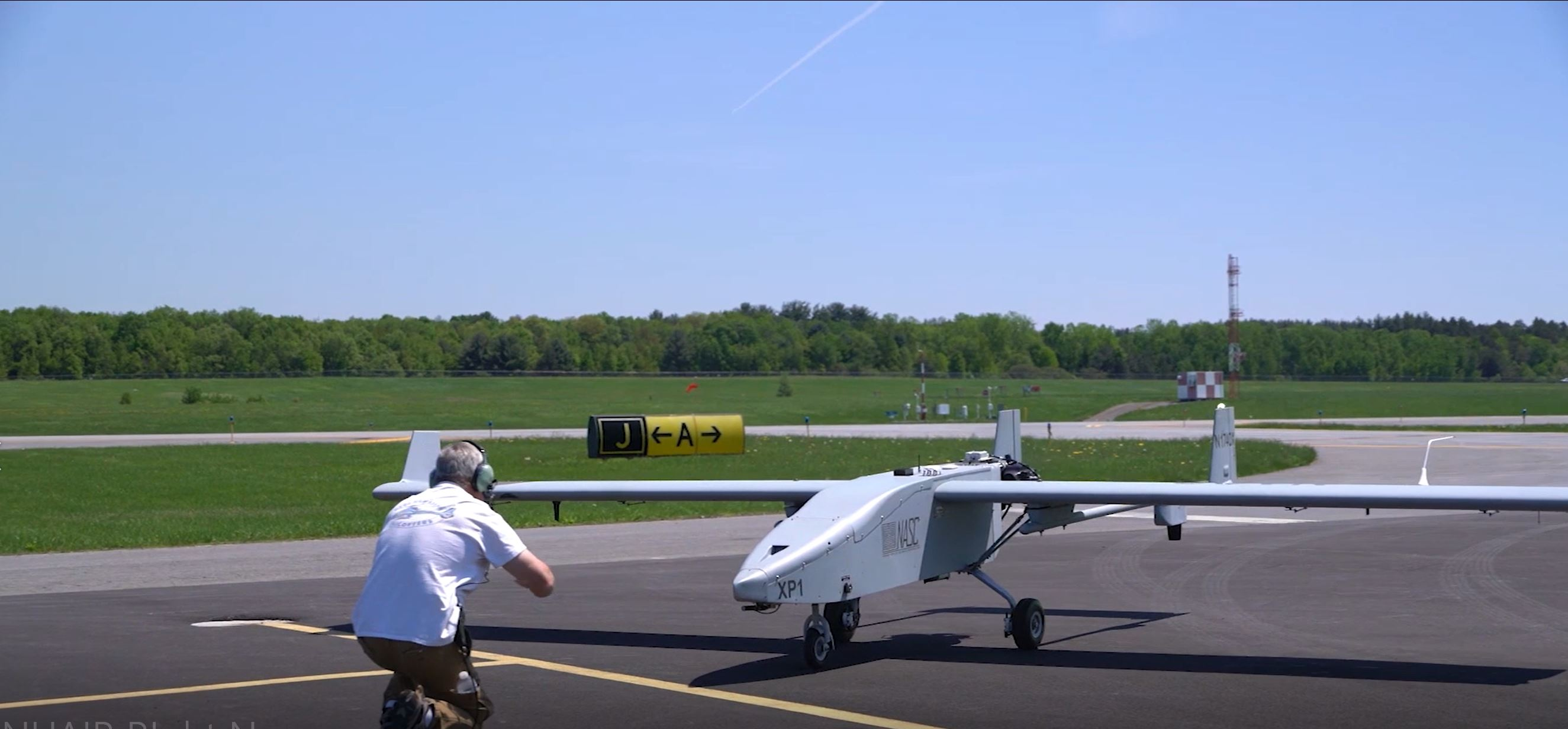 Tiger Shark Drone at Griffiss