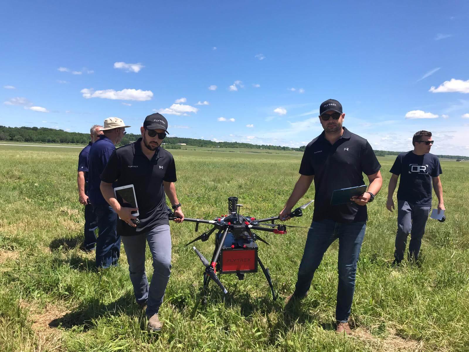 Drone Parachute Testing - Flytrex