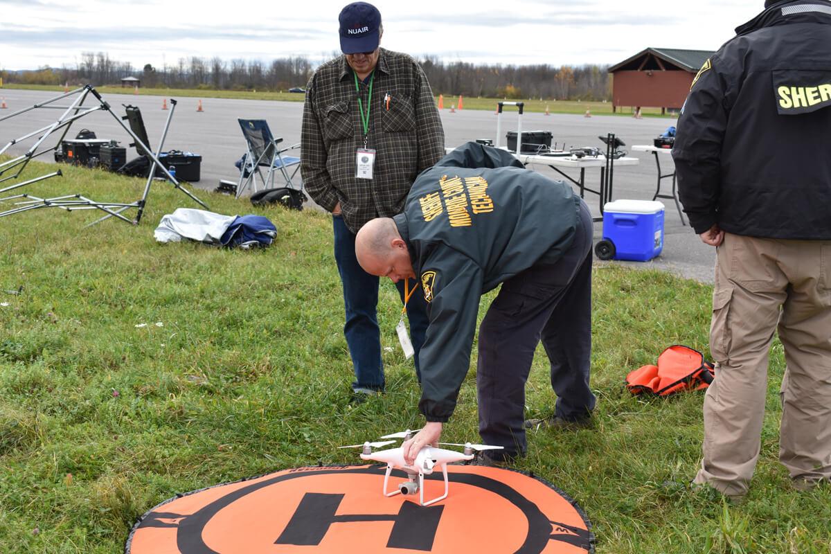 Monroe County Sheriff Drone