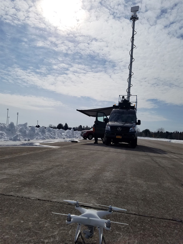 Drone Mobile Radar