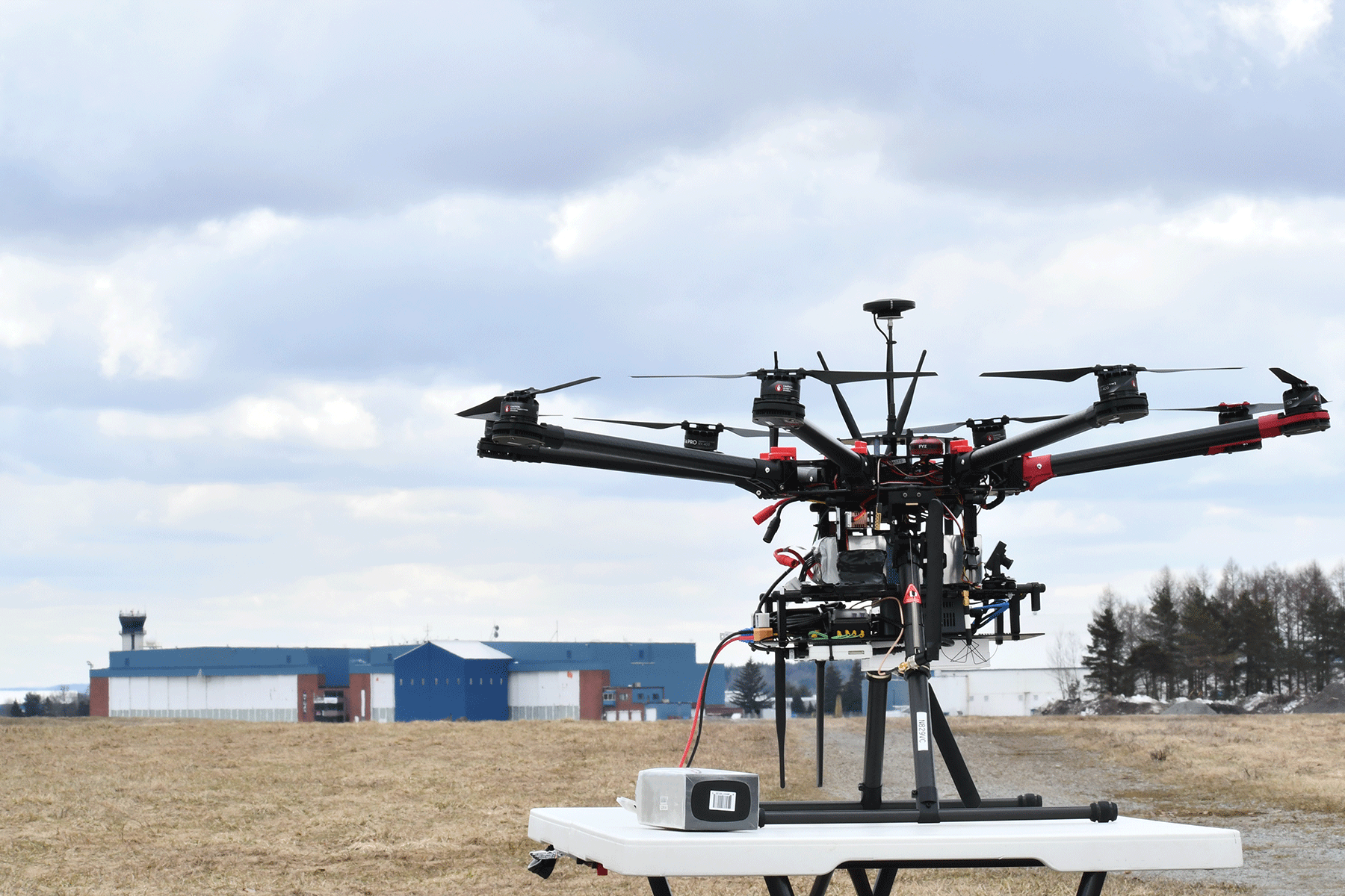 Drone at New York UAS Test Site