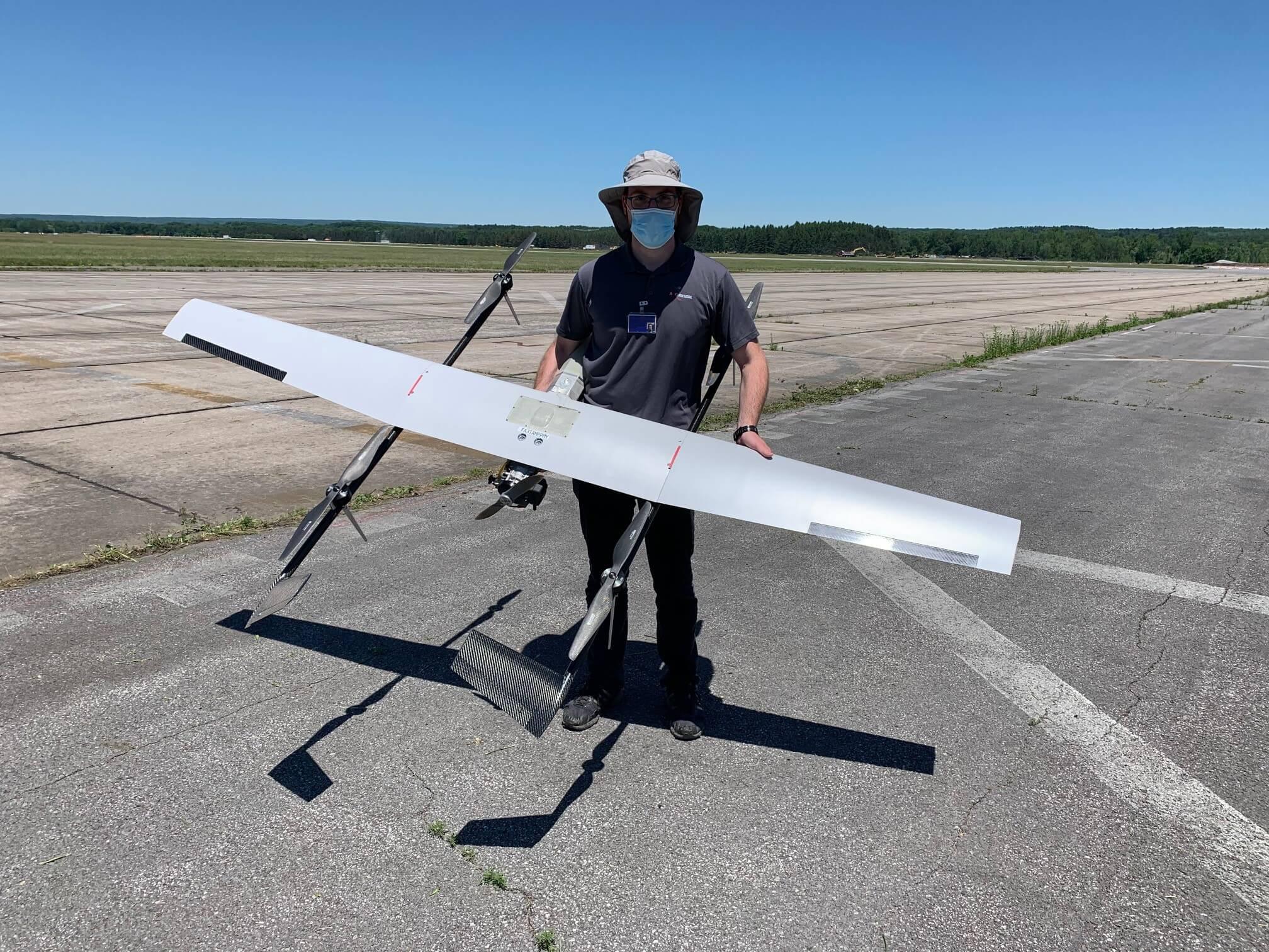 SuperVolo Hybrid Drone