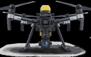 DJI M200 with AVSS Parachute