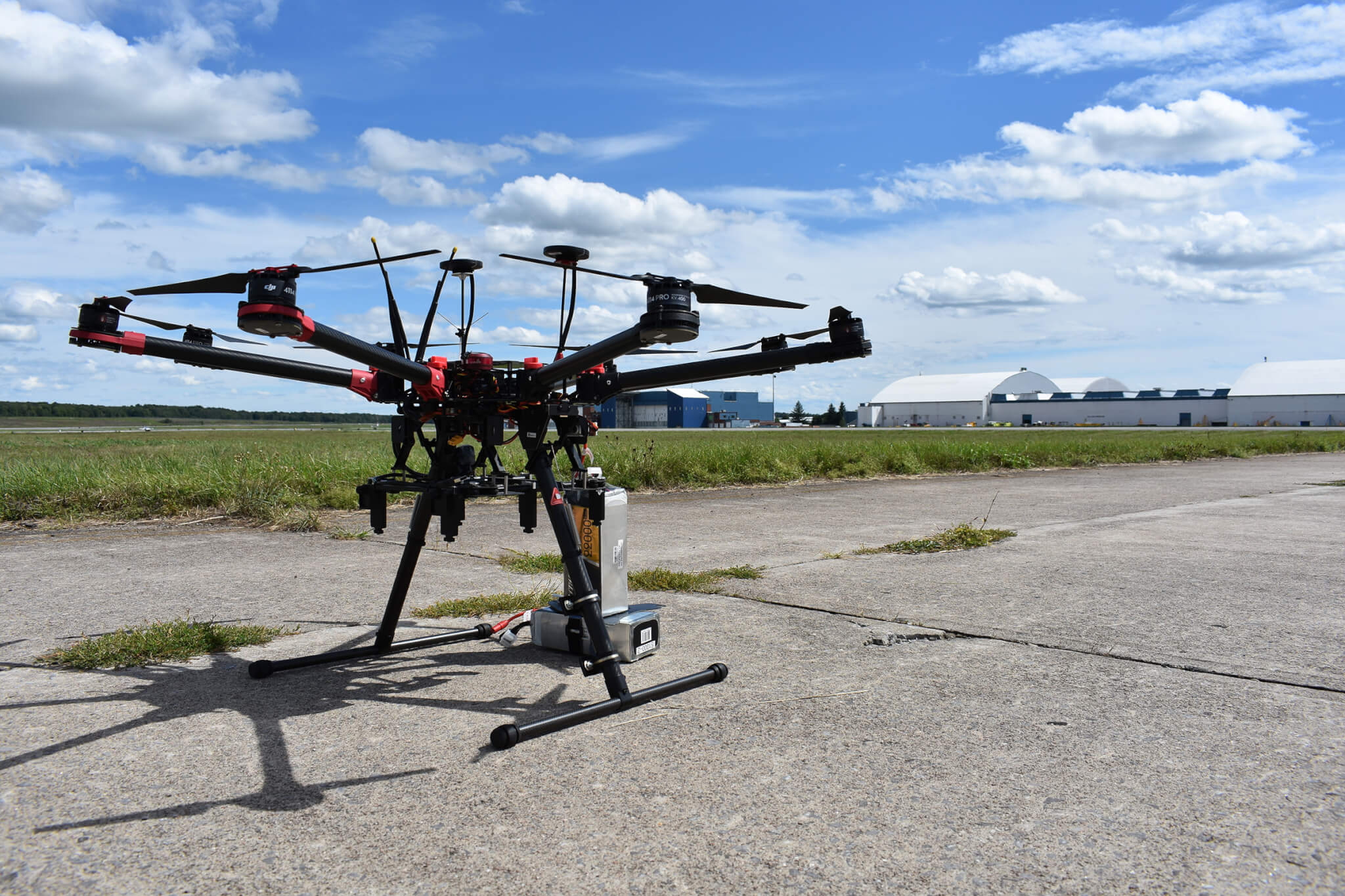 NUAIR Drone at NY UAS Test Site