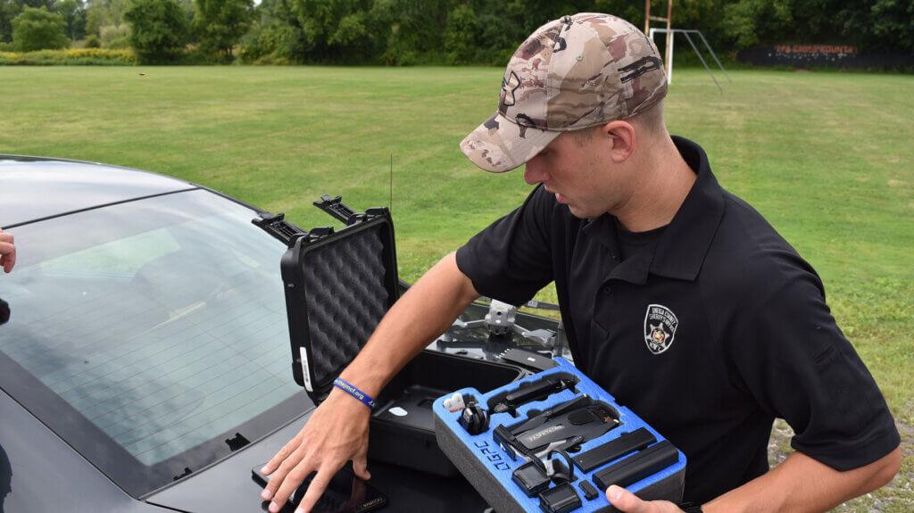 Oneida County Sheriff Prepares Drone