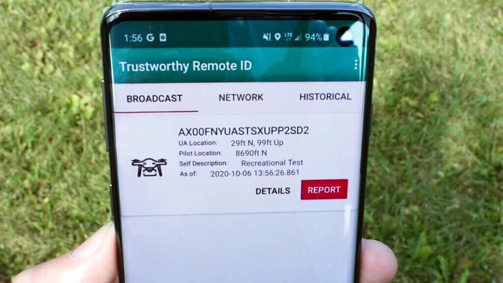 Trustworthy Remote ID