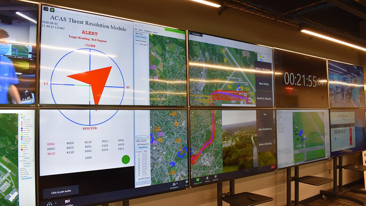 NY UAS Test Site Ops Center