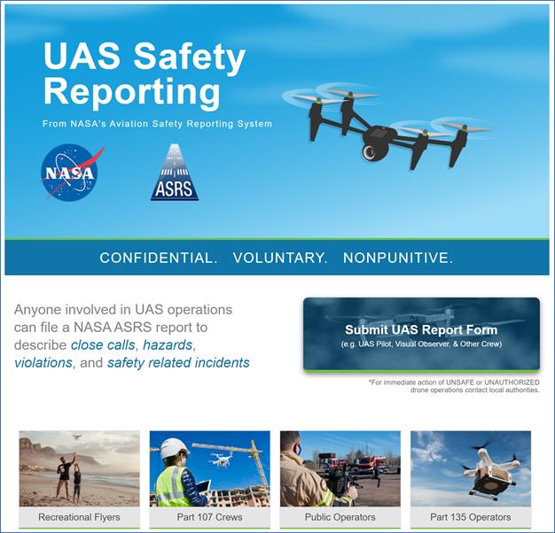 NASA ASRS Website
