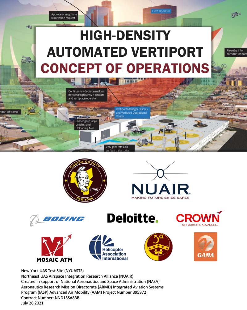 Vertiport Concept of Operations