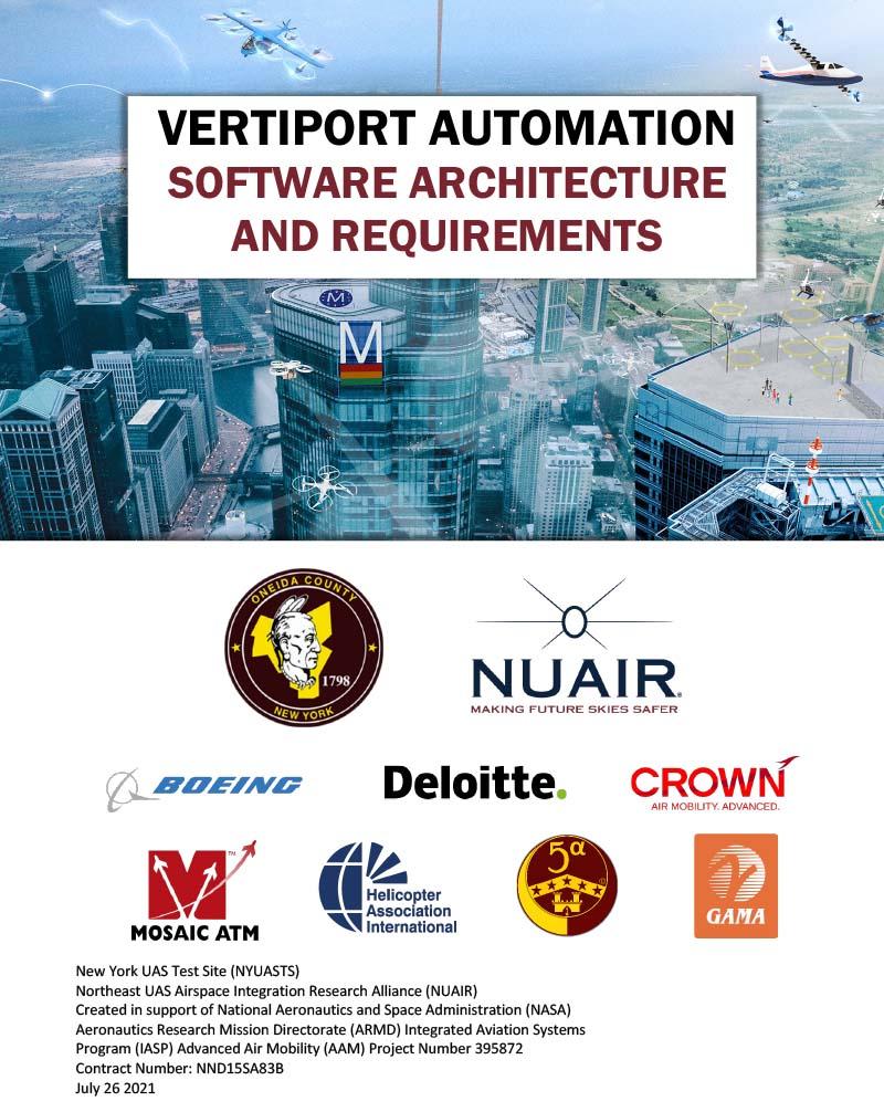 Vertiport Software Architecture